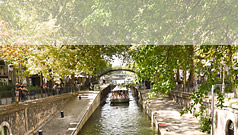 Charm of Canal St martin