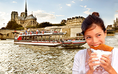 Cruise crepes Canal Saint Martin and Seine