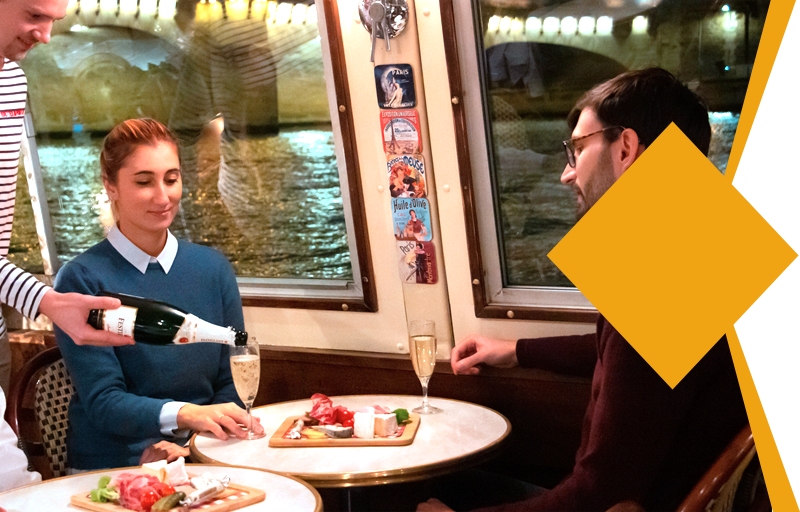 "Discovery Cruise in Paris - ""Aperitif"" Package"