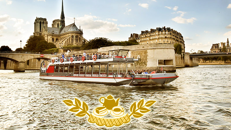 « Christmas tea time » cruise <small> - Canal Saint Martin & Seine</small>