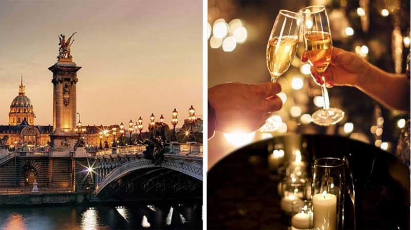 Croisière Champagne aux Chandelles