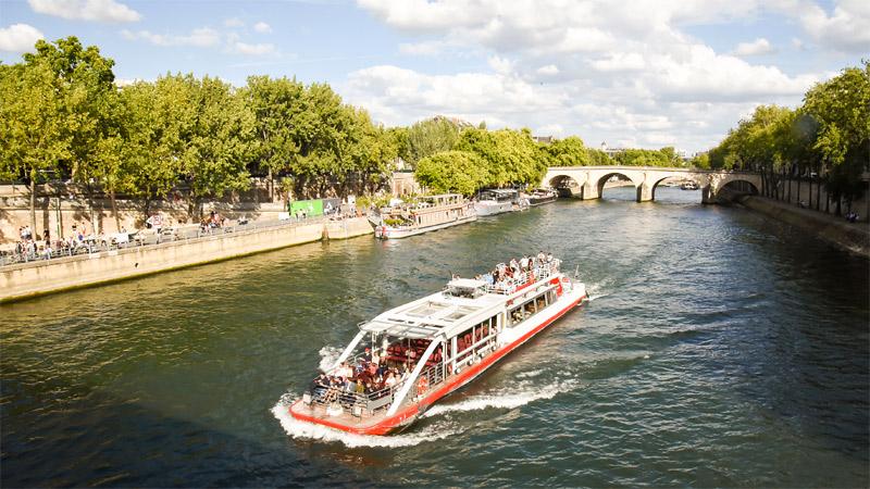 Croisiere Rive Droite Rive Gauche sur la Seine